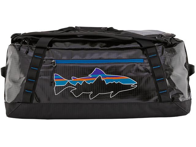 Patagonia Black Hole Duffel Bag 55l Black/Fitz Trout
